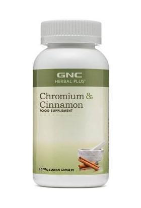 Gnc Chronium & Cinnamon 60 Kapsül