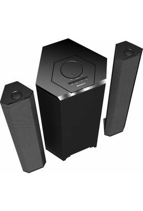 Sunny Sn3Ss24Rb Bluetoothlu 2+Uzaktan Kumandalı Soundbar'A Dönüşebilir Ses Sistemi