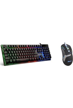 Tigoes K9 Mekanik Hisli Klavye + GA846 Oyuncu Mouse