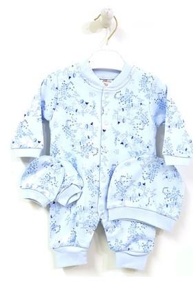 Eda Baby 1219 Desenli Bebek Tulumu