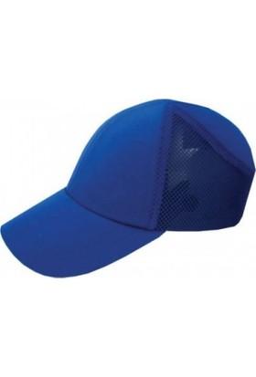 Shelter Darbe Emici Şapka Top Kep Fileli Mavi
