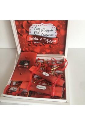 Melodi Seni Seviyorum Çikolata Paketi
