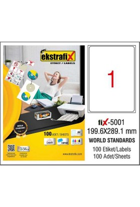 Ekstrafix Lazer Etiketleri
