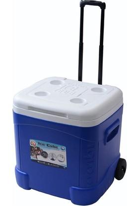 Igloo Ice Cube Tekerlekli Buzluk 56 Litre (Mavi)