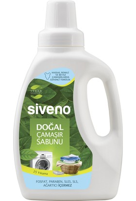 Siveno Doğal Çamaşır Sabunu 750 Ml Yeni