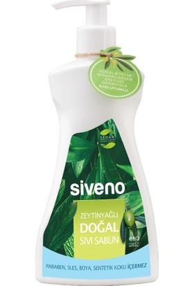 Siveno Zeytinyağlı Doğal Sıvı Sabun 300 Ml Yeni