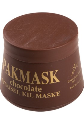 Pakmask Çikolata Esanslı Bitkisel Kil Maskesi