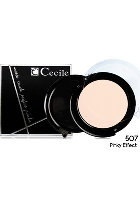 Cecile Islak ve Kuru Kullanımlı Mat Pudra / Matte Touch Perfect Powder 507