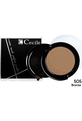 Cecile Islak ve Kuru Kullanımlı Mat Pudra / Matte Touch Perfect Powder 505