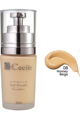 Cecile Cecile Kırışıklı Görünümünü Kapatmaya Yardımcı Fondöten / End The Appearance Of Anti Wrinkle Foundation 07