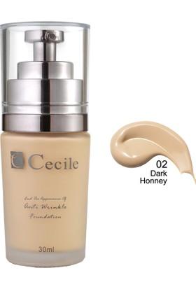 Cecile Cecile Kırışıklı Görünümünü Kapatmaya Yardımcı Fondöten / End The Appearance Of Anti Wrinkle Foundation 02
