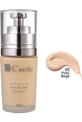 Cecile Cecile Kırışıklı Görünümünü Kapatmaya Yardımcı Fondöten / End The Appearance Of Anti Wrinkle Foundation 05