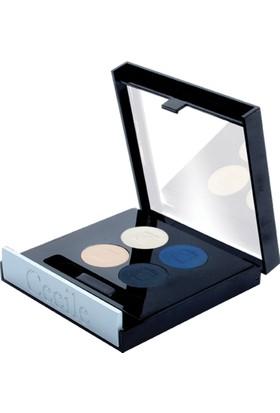 Cecile 4 lü Far / Matte Quatro Eyeshadow 804