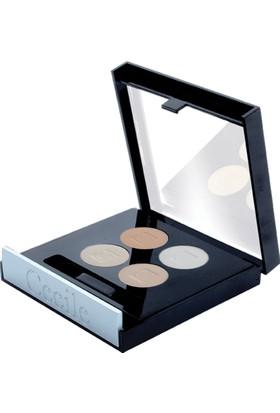 Cecile 4 lü Far / Matte Quatro Eyeshadow 808