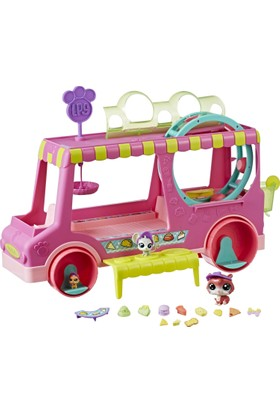 Littlest Pet Shop Treats Truck Playset