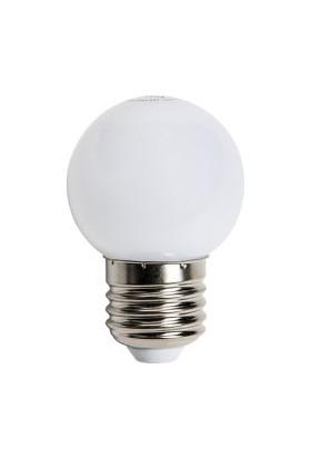 Ed-Son Ed-Son 2 Watt Beyaz Işık Gece Lambası Led Ampul E-27 Duy 2W 6500K