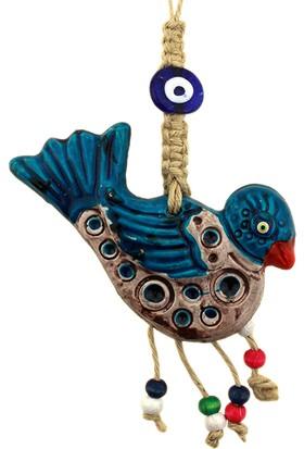 Hunga Kuş Model Seramik Nazarlık Duvar Süsü