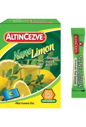 Altıncezve Tek İçimlik Nane Limon 60 Adet Stick