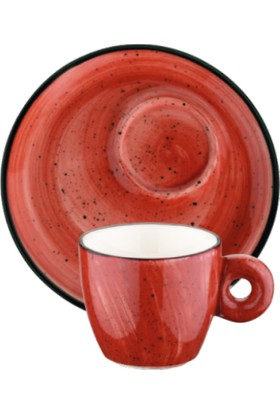 Bonna Passion Banquet Espresso Fincanı ve Tabağı 6'Lı