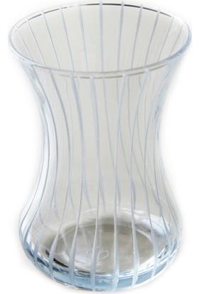 Başak Çizgi Dekor Çay Bardağı 12 Adet