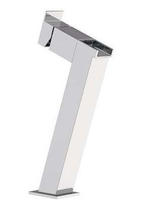 Remer Rubinetterie Flash Şelale Akışlı Tek Deliklili Yüksek Lavabo Bataryası