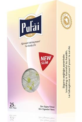 Pufai slim sigara filtresi ağızlığı, 125 adet ( 5 adet rose kutu * 25 adet slim filtre ) slim,slender ve süper slim sigara filtresi