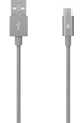TTec AlumiCable Micro USB Şarj Kablosu - Uzay Grisi 2DK11UG