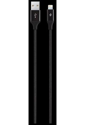 TTec AlumiCable iPhone Şarj Kablosu - Siyah 2DK16S