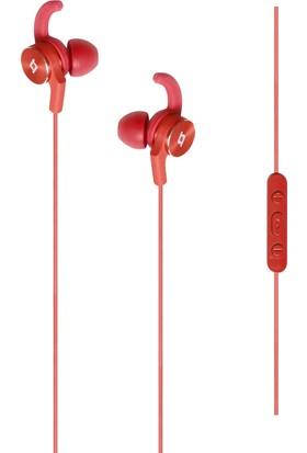 TTec EchoFit Kumandalı ve Mikrofonlu Kulakiçi Kulaklık - Kırmızı 2KM112K