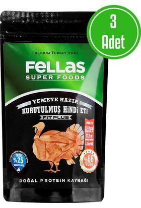 Fellas Turkey Jerky Fit Plus 40 Gr 3'Lü Paket