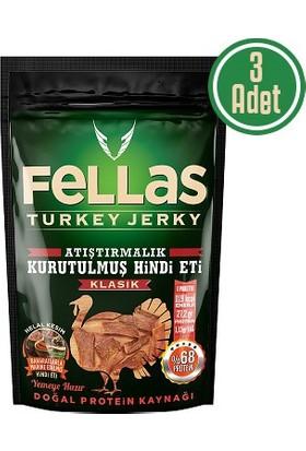 Fellas Turkey Jerky Klasik 40 Gr 3'Lü Paket