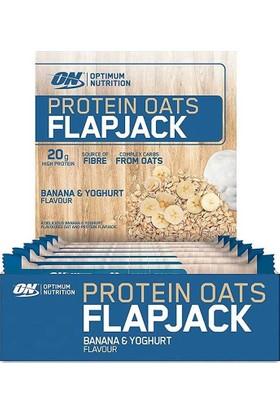 Optimum Protein Oats Flapjack 80 Gr 12 Adet Muz / Yoğurt