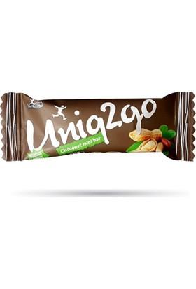 Uniq2Go Choconut Mini Bar 25 Gr Yer Fıstığı / Kahve - 1 Adet