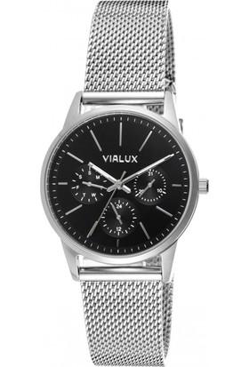 Vialux Ly524S-04Ss Hasır Kordon Kadın Kol Saati