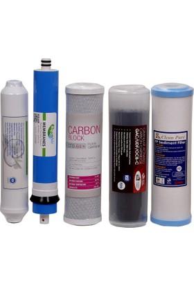 Aqualine Su Arıtma Cihazı 5 li Filtre Seti NSF Sertifikalı İhlas Uyumlu
