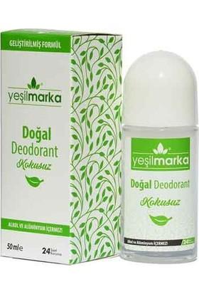 Yeşilmarka Doğal Roll On Deodorant - Kokusuz 50 ml.