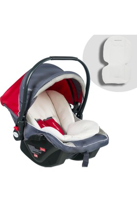 Baby Home Bh 500 Comfort Ana Kucağı Puset Oto Koltuğu - Gri Kırmızı