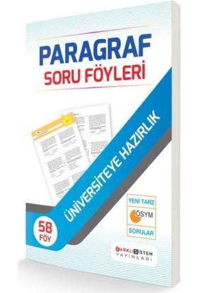 Farklı Sistem Yks Paragraf Soru Föyleri (58 Föy)