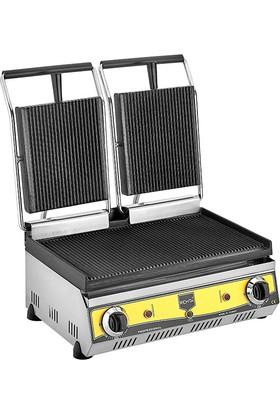 Remta 20 Dilim Çift Kapaklı Tost Makinası Elektrikli
