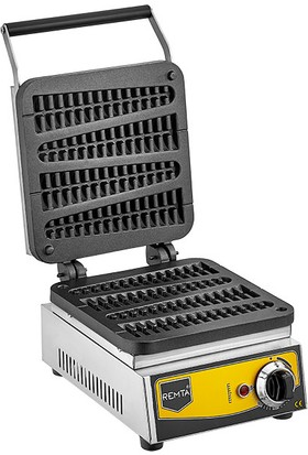 Remta Çubuk Waffle Makinası Elektrikli 4&#39lü