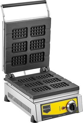 Remta Çubuk Waffle Makinası Elektrikli 6&#39lı