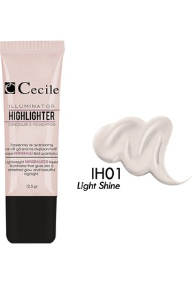 Cecile Jel Aydınlatıcı / Illuminator&Highlighter IH01