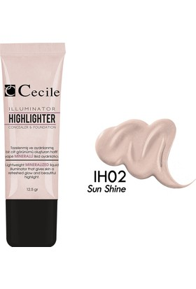 Cecile Jel Aydınlatıcı / Illuminator&Highlighter IH02
