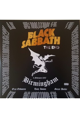 Black Sabbath – The End (3Lp) Plak