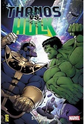 Marvel Comics Thanos Vs. Hulk - Starlin