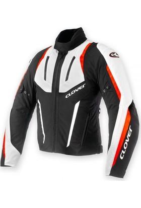 Clover AirBlade-2 Kırmızı/Beyaz Kısa Ceket