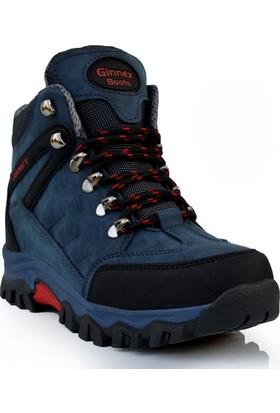 Ginnex Kürklü Erkek Trekking Kar Botu