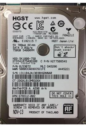 "Hitachi Travelstar 2.5"" SATA 3Gbit/s 7200RPM 250GB 16MB Cache Disk HTS723225A7A364 İthalatçı Garantili"
