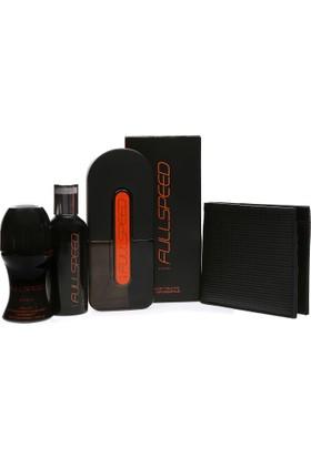 Avon Fullspeed Erkek Parfüm Seti + Erkek Cüzdan