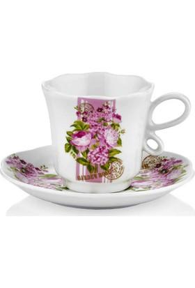 Taç 6755 Romantic Wait 6 Lı Kahve Fincan Takımı